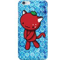 Strawberry Kitty iPhone Case/Skin