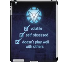 Not Recommended iPad Case/Skin