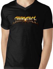 Shining Force (Genesis) Title Screen Mens V-Neck T-Shirt