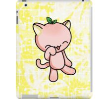 Peach Kitty iPad Case/Skin