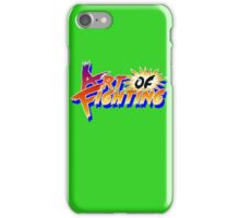 Art of Fighting (Arcade) Title Screen iPhone Case/Skin