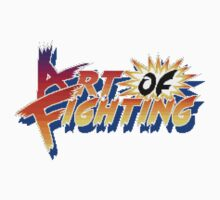 Art of Fighting (Arcade) Title Screen Kids Clothes