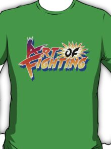 Art of Fighting (Arcade) Title Screen T-Shirt