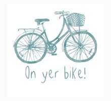 On Yer Bike! (plain) by Catie Atkinson