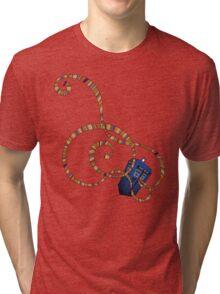 Time Scarf Tri-blend T-Shirt