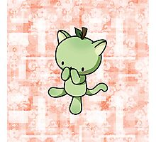 Pear Kitty Photographic Print