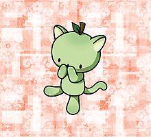 Pear Kitty by fushiginaringo