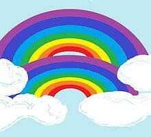 Joelene's Double Rainbow by Jana Gilmore