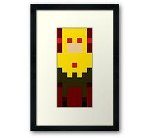 8-Bit Zoom CW Framed Print