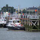 Antwerp - River Pilots by Gilberte
