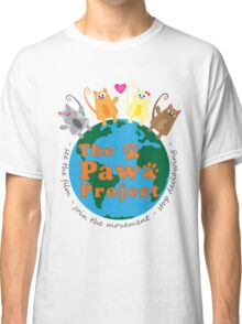 Safe World for Cats - The Paw Project Classic T-Shirt