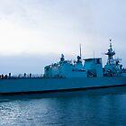 HMCS ST. JOHN'S by Sandy  McClearn