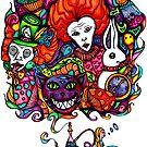 Alice & Hookah by Octavio Velazquez