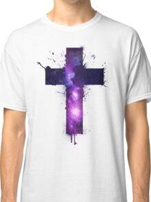 Galaxy Cross Classic T-Shirt