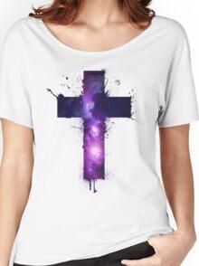 Galaxy Cross Women's Relaxed Fit T-Shirt