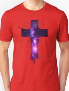 Galaxy Cross Unisex T-Shirt