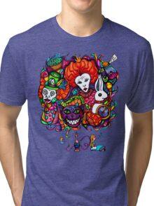 Alice & Hookah Tri-blend T-Shirt