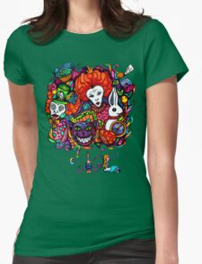 Alice & Hookah Womens Fitted T-Shirt