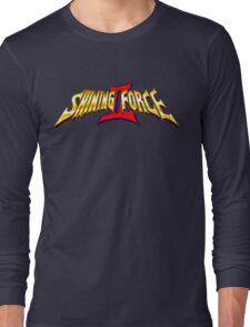 Shining Force 2 (Genesis) Title Screen Long Sleeve T-Shirt