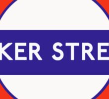 Baker Street Anyone? Sticker