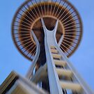 Space Needle, Seattle by Abi Skeates