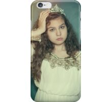 Little tired princess iPhone Case/Skin