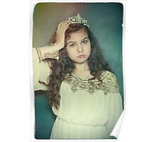 Little tired princess Poster