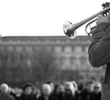blow your trumpet by Alma Ní Chuinn