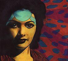 Yvonne De Carlo. Tokyo Series by Audrey Angel