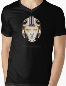 "Christopher Walken - ""Skywalken"" Mens V-Neck T-Shirt"