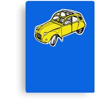 citroen 2 cv  Canvas Print