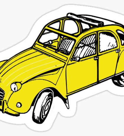 citroen 2 cv  Sticker