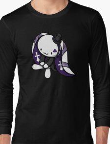 Princess of Clubs White Rabbit Long Sleeve T-Shirt