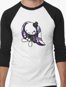 Princess of Clubs White Rabbit Men's Baseball ¾ T-Shirt