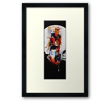 Chucka-Tanti, Bleeding of the brain Framed Print