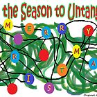 'Tis the Season to Untangle - Christmas card by Jana Gilmore