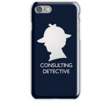 Consulting Detective Sherlock Shirt - Dark iPhone Case/Skin