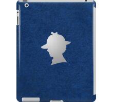 Consulting Detective Sherlock Shirt - Dark iPad Case/Skin