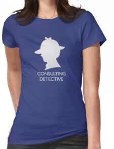 Consulting Detective Sherlock Shirt - Dark Womens Fitted T-Shirt