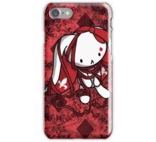 Princess of Diamonds White Rabbit iPhone Case/Skin