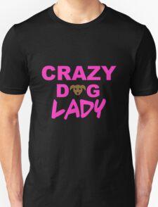crazy dog lady, dogs, funny Unisex T-Shirt