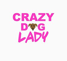 crazy dog lady, dogs, funny Womens Fitted T-Shirt