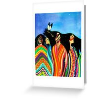 Spirits Aware Greeting Card