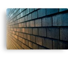 Colourful Brick Canvas Print
