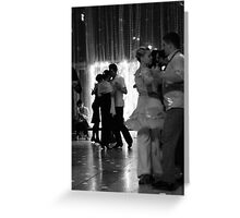 Tango in Black Greeting Card