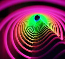 Rainbow Vortex by Heather Brink