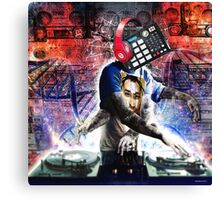 The DJ Canvas Print