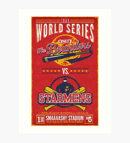 World Series 19XX Art Print