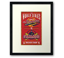 World Series 19XX Framed Print