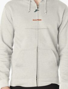 Ghibli Minimalist 'Nausicaä of the Valley of the Wind' Zipped Hoodie